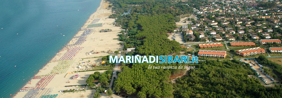 Marina di SibariLa spiaggia di Marina di Sibari Vista Panoramica (ALTO).